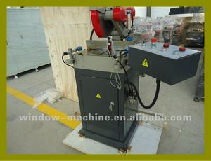PVC Window Door Single Mitre Saw Machine/PVC doors and windows machinery/PVC window door profile cutting saw (DSJ02)