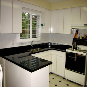 Absolute Black Granite Kitchen Countertop With Good Price