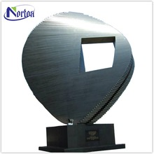 Large square stainless steel sculptures for sale NTST-469Y