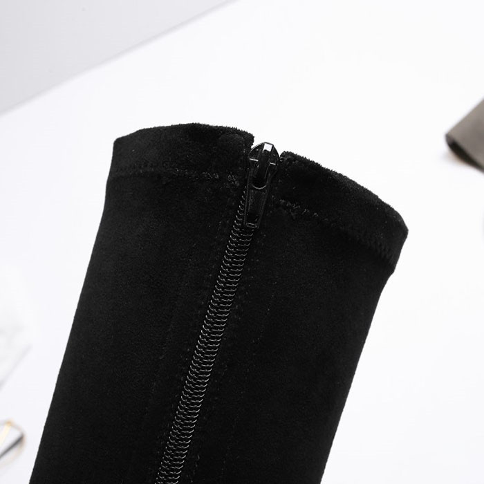 High Boots Stretch Pointed Toe Sexy High Heel Women Thigh High Boots Over the Knee Fashion Boots