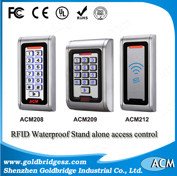 China Supplier 125khz em controller webserver waterproof touch door access control panel electronic reader board