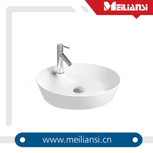 New Design Bathroom Above Counter Sanitary Ware anomaly christmas decoration ceramic Art Basin