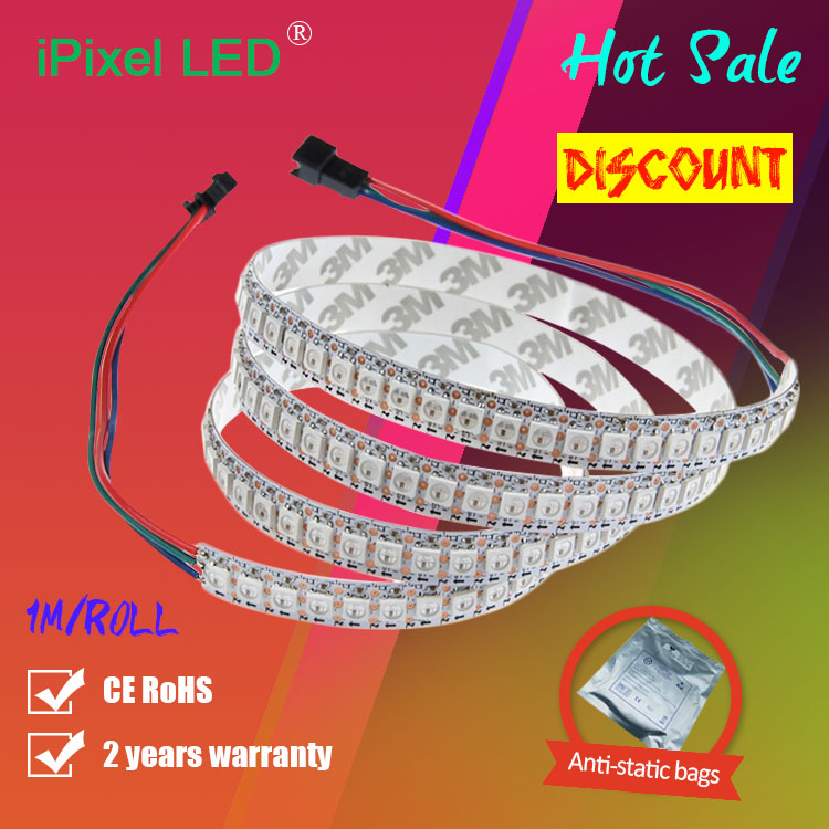 Addressable flex led strip WS2812B WS2812 144pixel