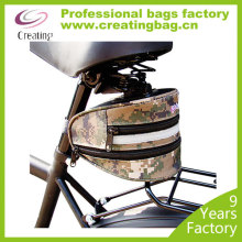 Classic Camo bicycle rear rack bag