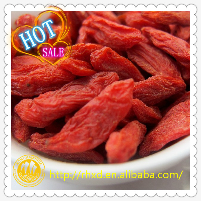 2017 Lower Price Fresh Organic Dried Goji Berry