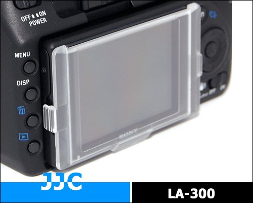 JJC Camera Mount-on Style LCD Screen Protector LA-300 For Sony