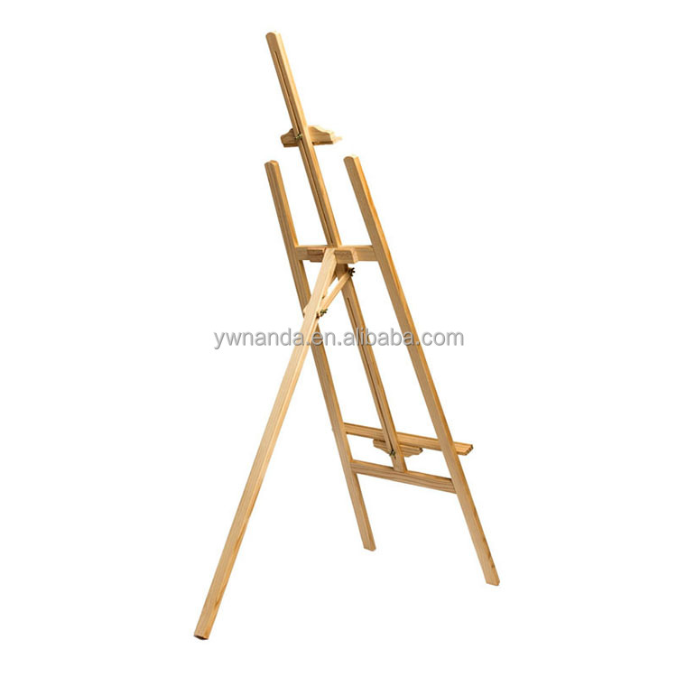 Ad display wooden color kids children adults wood art sketch painting easel