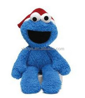 EN71 and ASTM standard ICTI cookie monster plush toy