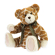 Special design wonderful gift giraffe skin teddy bear plush toy