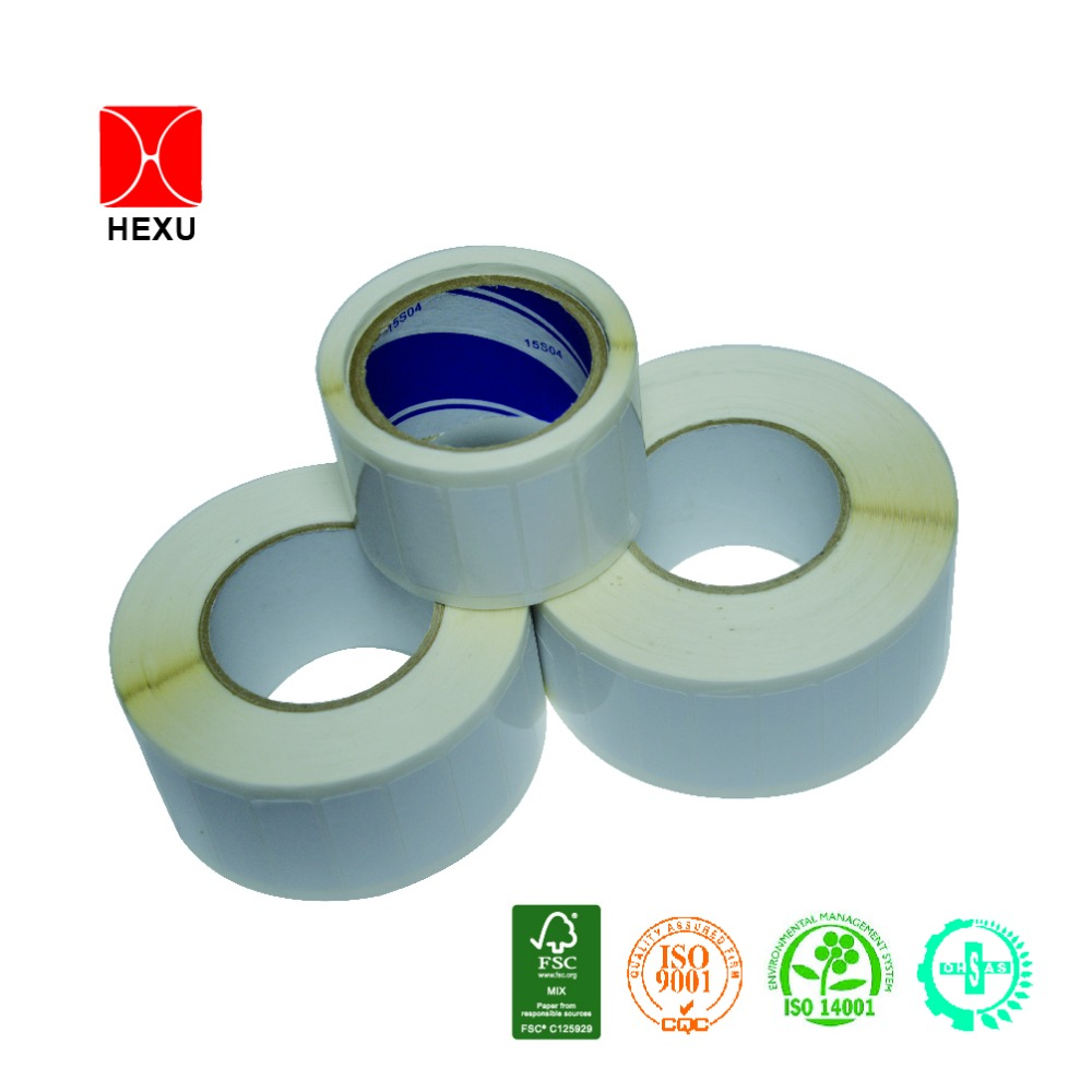 Best price blank sticker white label roll