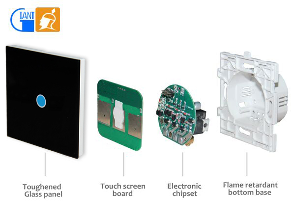 Home Automation Led Dimmer Touch Types Of Lutron Wall Plate ...