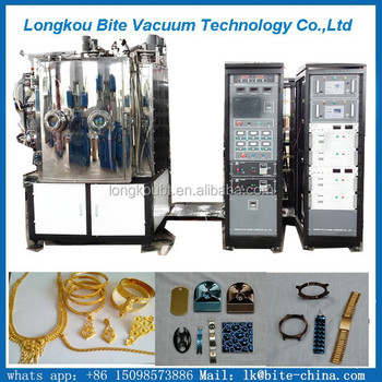 Jewelry Making Gold Chain Gold Pvd Ion Vacuum Coating Machinegolden