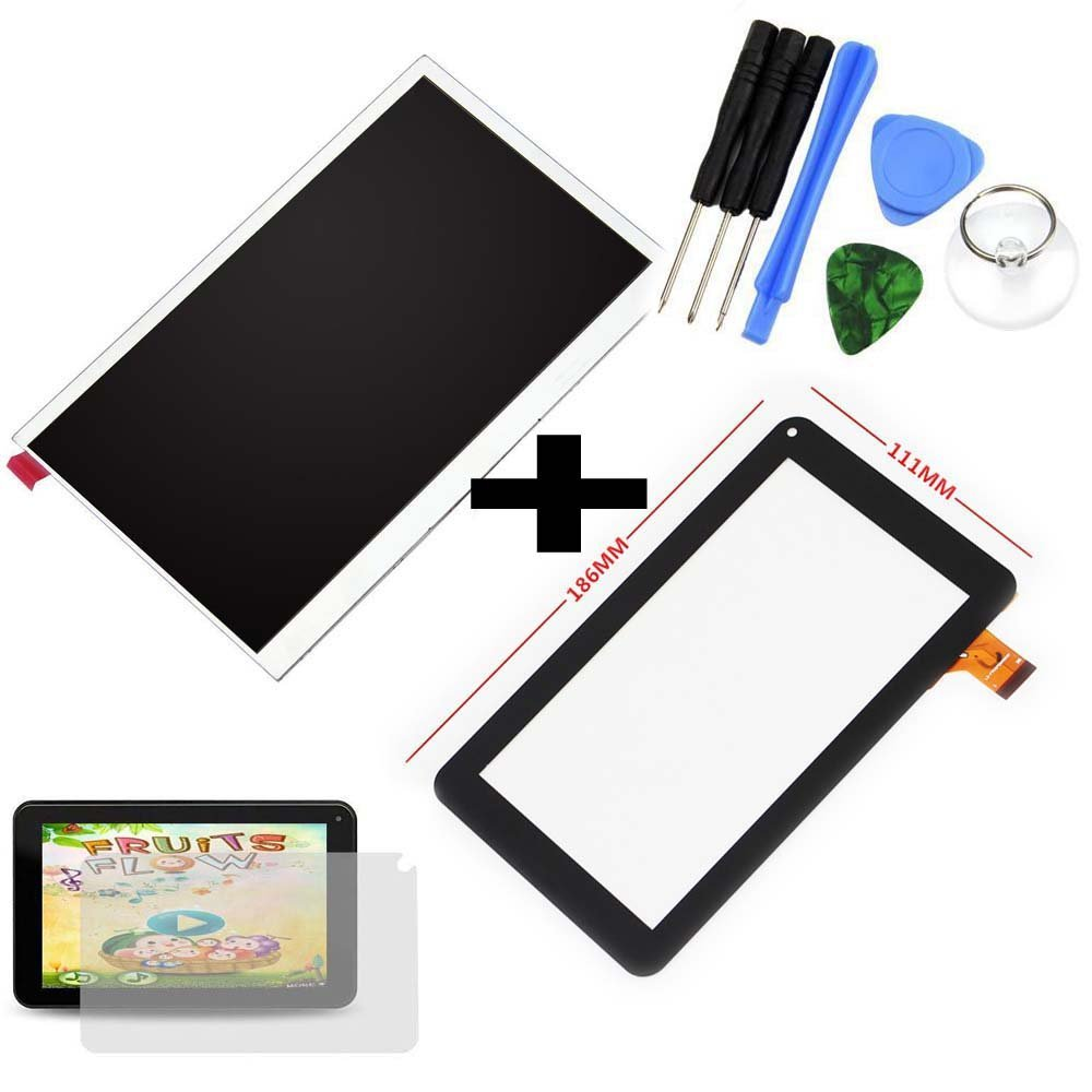 2pcs For 7/'/' RCA Voyager RCT6873W42KC Tablet Touch Screen Digitizer Replacement