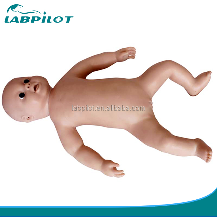Vivid Baby Boy and Baby Girl Doll for Nursing Teaching