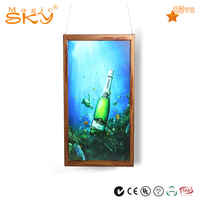 Quality guarantee fashion funia 36x48 african waterproof wood picture frame