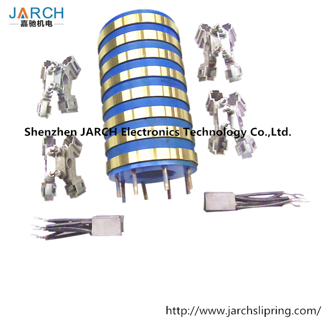 JARCH 8 Rings alternator collector ring,slip ring collector columns