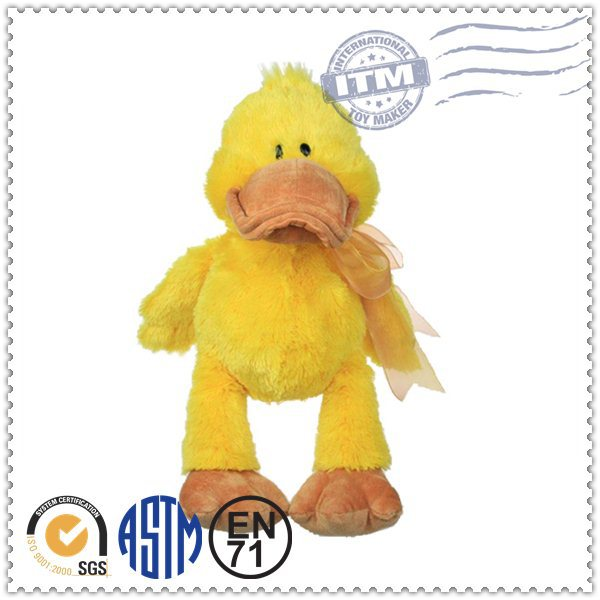 Promotion high quality fashion top selling lovely plush duck doll