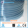 Soft transparent plastic tube high level of transparency
