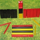Premium Hardwood Kubb Game Set - Fun Outdoor Lawn Game for All Ages