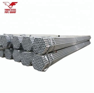 "Low Price wholesale 1 1/2"" and 48.3 mm Galvanized Steel Scaffolding Pipe for Construction"