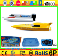 2.4Ghz remote control titanic rc boat with inflatable pool