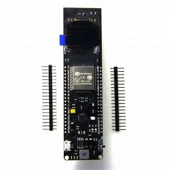 TTGO WiFi Bluetooth Battery ESP32 Rev1 0.96 inch OLED development board