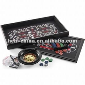 4 in 1 Casino Roulette Game Set Casino Table Games
