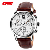 Best product SKMEI 9070 japan movt quartz fashion western luxury watches oem watch men chronograph