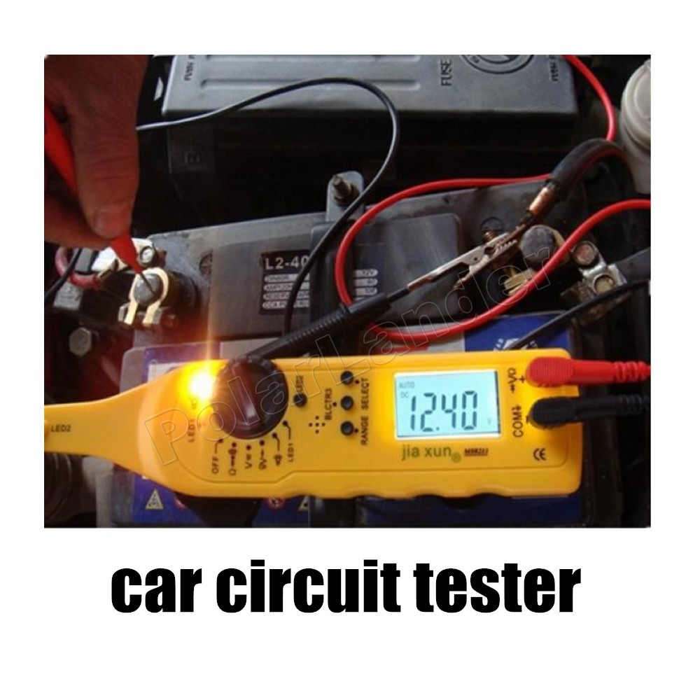 car styling multi function circuit tester car automotive power electric circuit fault detector. Black Bedroom Furniture Sets. Home Design Ideas