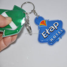 Made in China high quality cheap promotion Voltage light keychain in bulk