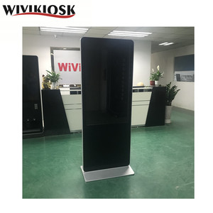 indoor floor standing 49 inch touch screen LCD digital signage