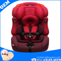 ISOFIX function certificate China manufactured Child car seat