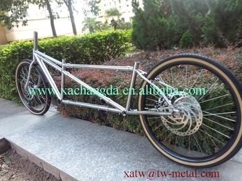 54c165c53909 XACD made Ti mtb tandem bike frame titanium coupler tandem bicycle frame Ti  road tandem bike