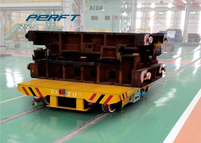 Custom Industry Heavy Battery Powered Track Transfer Cart