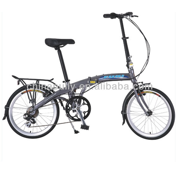 20 inch 6 speed folding bike