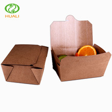 greaseproof / waterproof kraft paper snack box fried food packaging