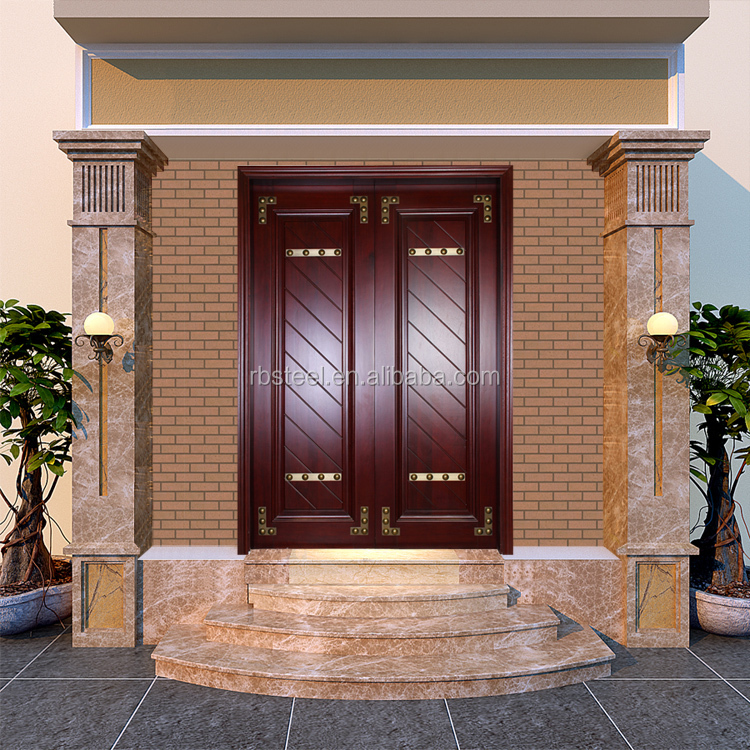 Cheap price india teak wood main door designs buy teak Wooden main door designs in india