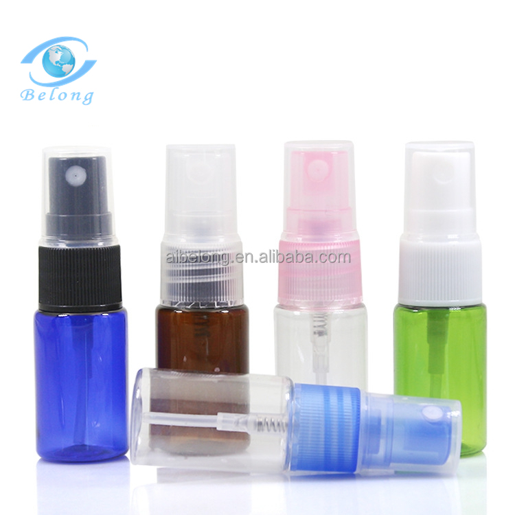 IBELONG Whosale PET plastic pump perfume <strong>spray</strong> bottle 10ml <strong>spray</strong> for personal care