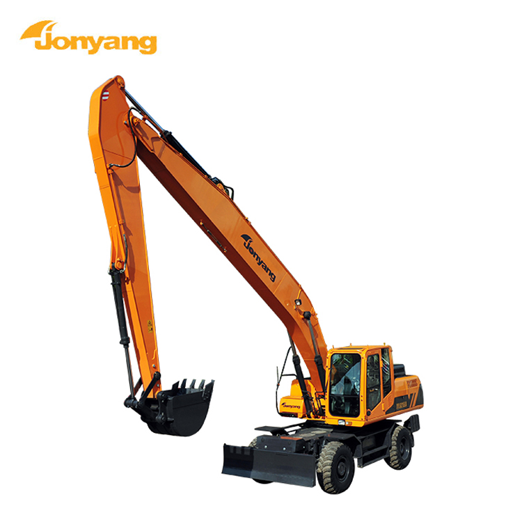 Factory heavy equipment cheap used wheel excavator for sale