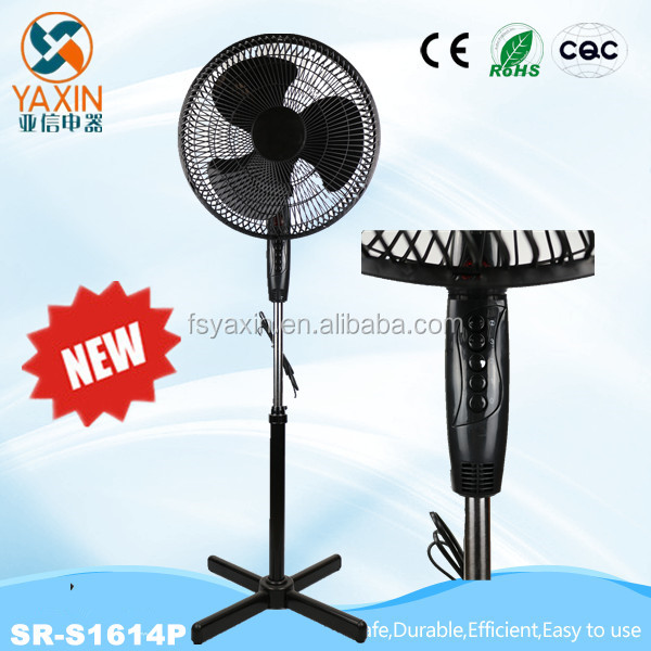 2017 Super Cool Oscillating Stand Fan 16 Inch Oscillating Function Adjustable Stand New