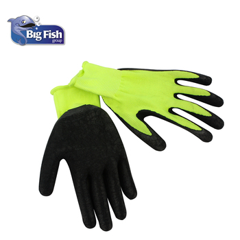 Lowes Work Gloves >> High Quality Insulated Latex Coated Gloves Lowes Work Gloves View Latex Coated Gloves Bigfish Product Details From Big Fish Ningbo Trading Co Ltd