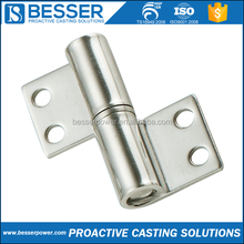 Hinge for Heavy Door Investment Lost Wax Precision Casting Glass Shower Door Pivot Hinge