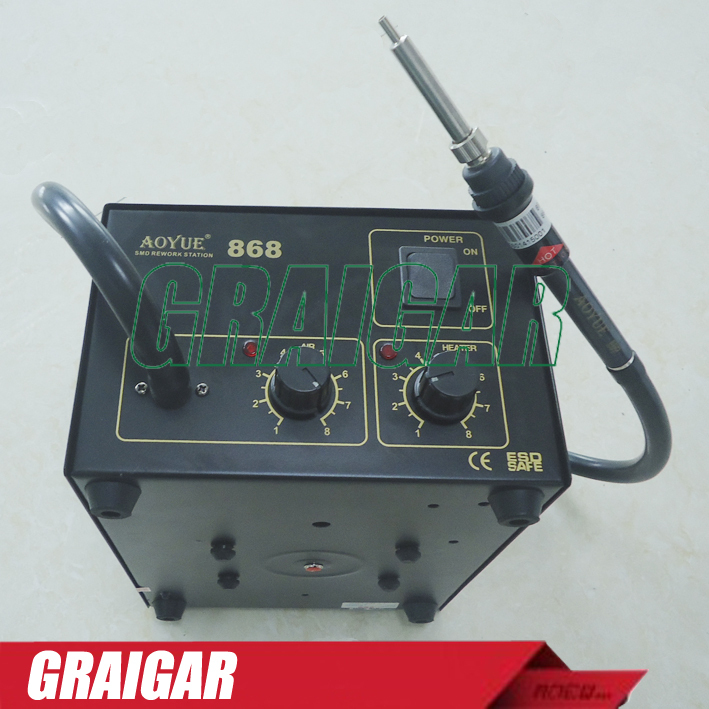 Solder Station 220V AOYUE868 AOYUE 868 AOUYE Repairing System Hot Air SMD Soldering Iron