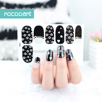 Y5036 Adhesive Colorful Leopard Nail Gel Nail Art Design Stickers