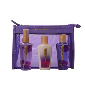 Factory OEM beautiful SPA bath gift set for travel or gift for lover