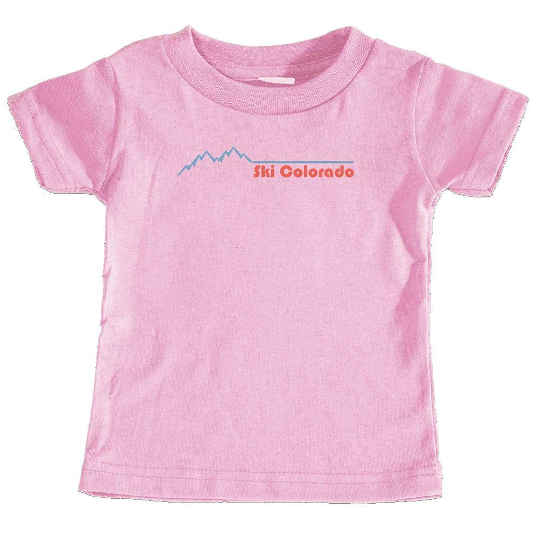 Unisex Infant T-Shirt Tenn Street Goods Colorado Mountain /& Trees Badge