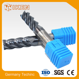 Factory sales Metal Cutting Tools ,Solid Carbide End Mill with TiAlN Coated