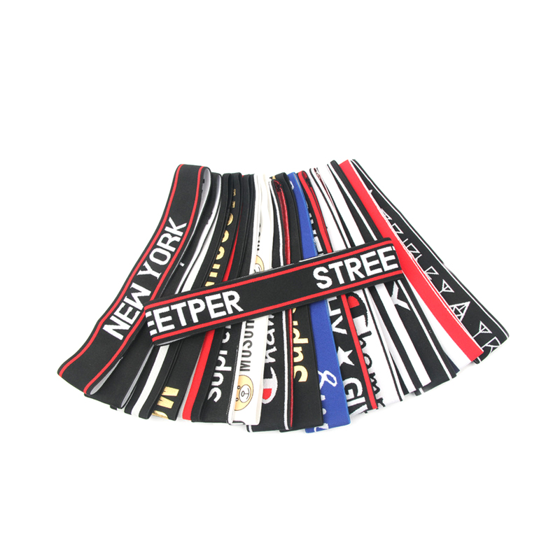 Fashion Custom Jacquard <strong>Headband</strong> Nylon Elastic Sport <strong>Headband</strong> For Running
