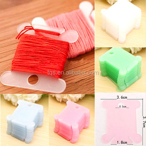Plastic Cross stitch Embroidery Sewing craft Supplies Floss Bobbins /Cardboards