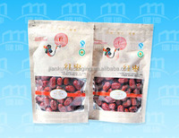 High quality cheap salt plastic packaging bag with logo and code